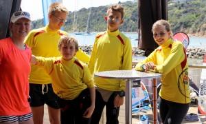 Team Deutschland vLnR Luisa Krüger, Jouri Clephas, Leonard Beyer, Jannes Müller, Annika Kemper