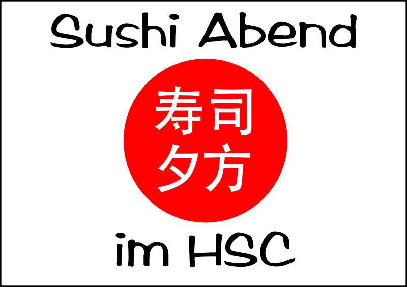 Sushi-Abend_HSC