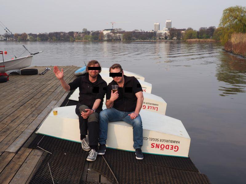 Ganz besonders freuen wir uns über unsere auswärtigen Gäste, die umgehend den Weg zu unseren frisch polierten Booten gefunden haben und die aktuellen Sitzeigenschaften ausprobieren durften.
